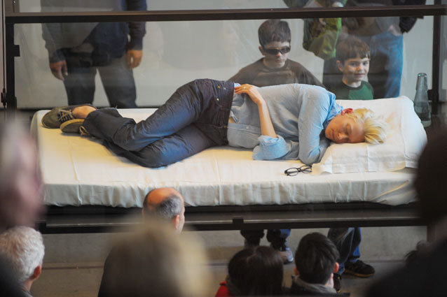 Tilda Swinton Performs The Maybe at MoMA