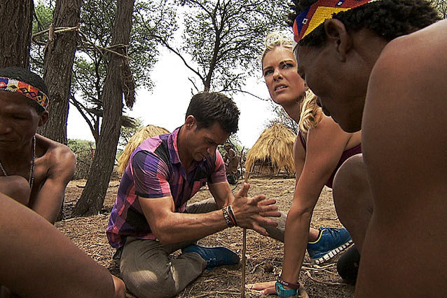 The Amazing Race Bushmen Kalahari Desert