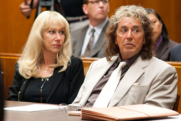 Helen Mirren and Al Pacino in HBO's Phil Spector