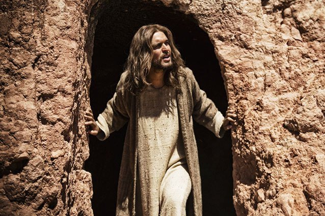 Diego Morgado as Jesus in History Channel's 'The Bible'
