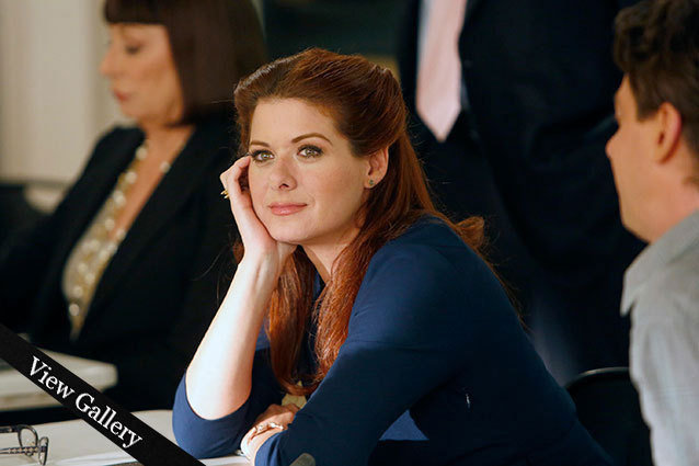 Debra Messing Leaving Smash