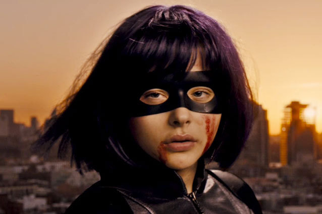 Chloe Grace Moretz as Hit-Girl in Kick-Ass 2