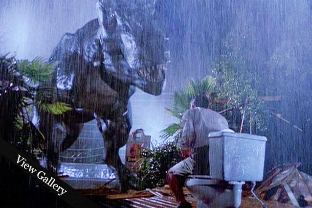 Jurassic Park bathroom scene lawyer