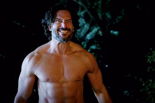 Alcide Shirtless True Blood Season 6