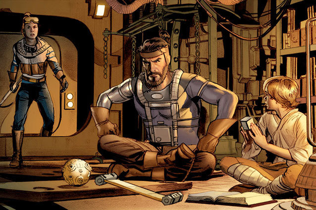 George Lucas' First Draft of Star Wars is Being Adapted into a Comic by Dark Horse