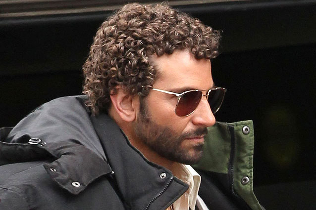 Bradley Cooper and his new perm