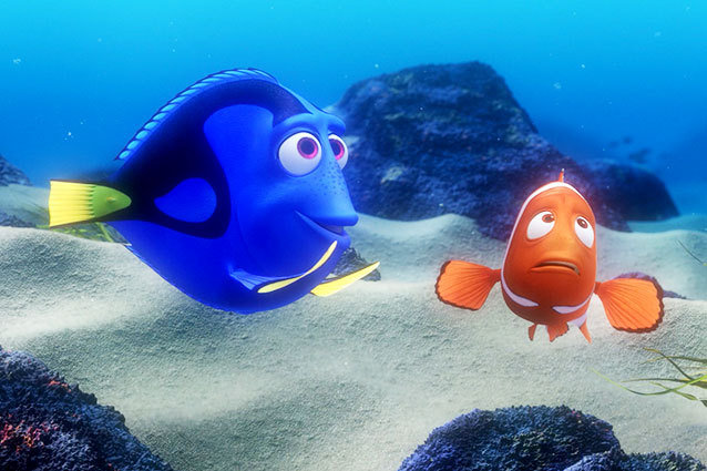 Finding Nemo - Dory and Marlin