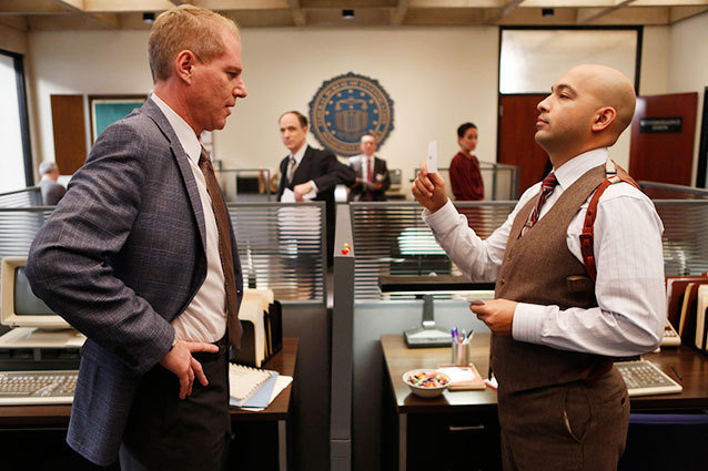 Max Hernandez and Noah Emmerich on The Americans