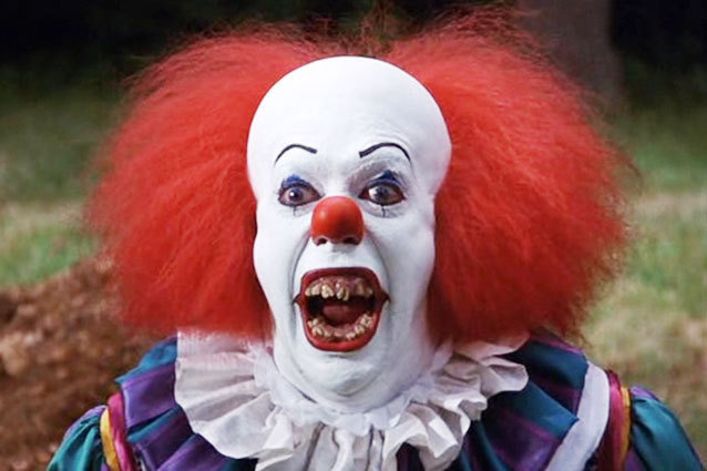 Stephen King It the clown Throwback Thursday