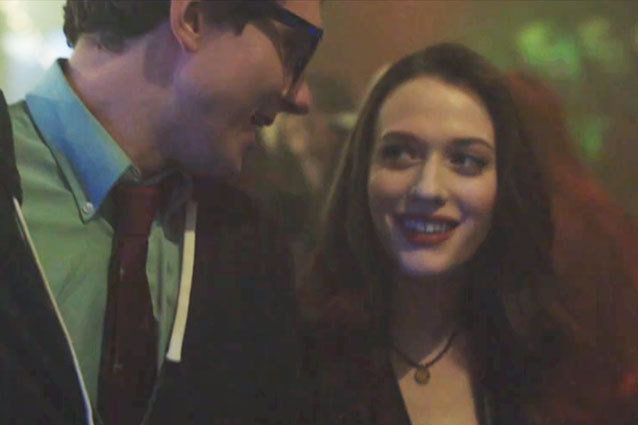 Kat Dennings stars in Hanson's video for 'Get the Girl Back'