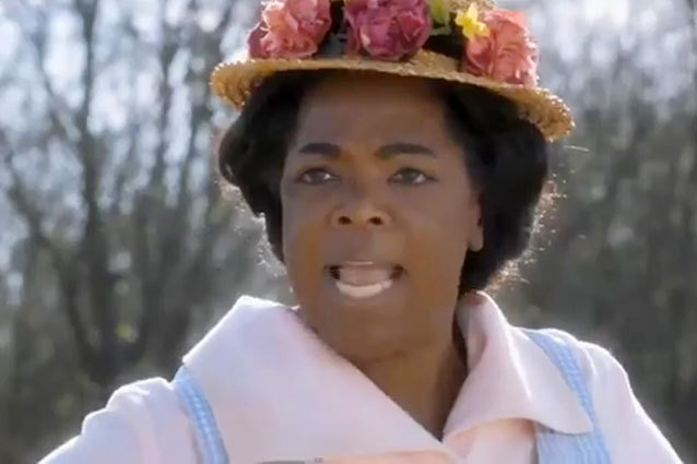 Oprah as Sofia