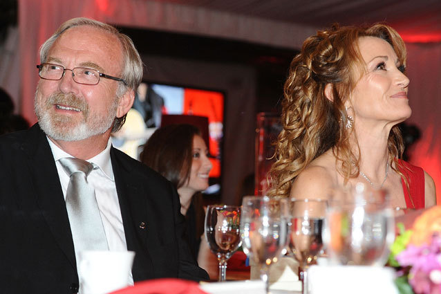 Jane Seymour and James Keach