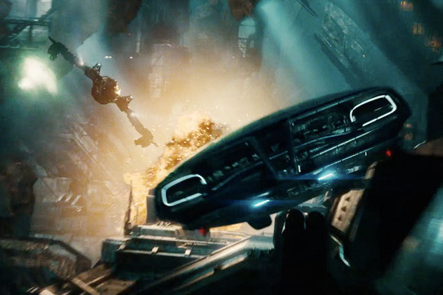 Klingon Bird of Prey in Star Trek Into Darkness
