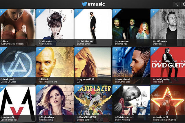 Twitter Music Launches