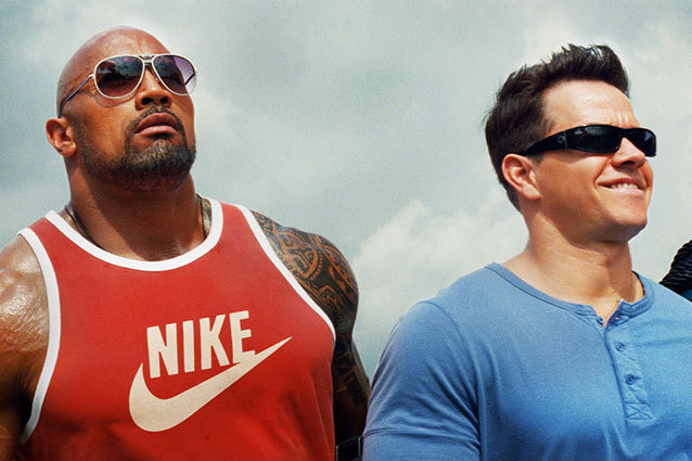 Dwayne Johnson and Mark Wahlberg