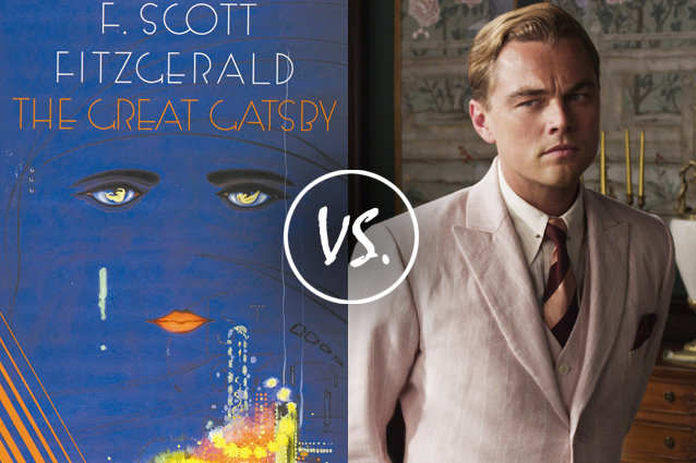 Comparison between the great gatsby the movie directed by baz luhrmann and the great gatsby the book