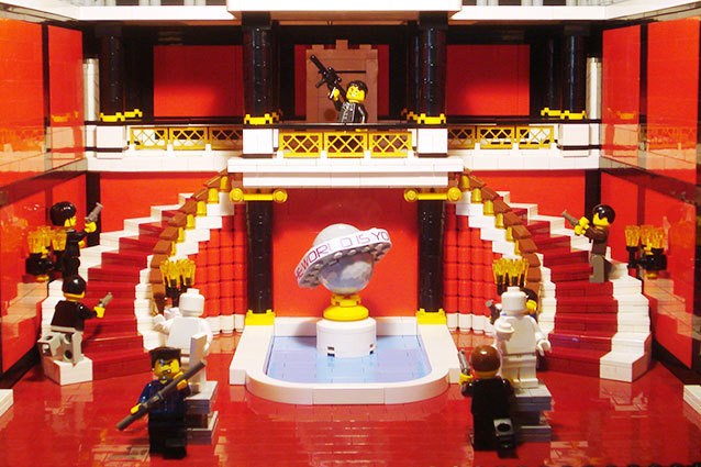 Scarface in Lego