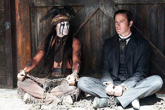 Johnny Depp and Armie Hammer