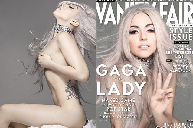 Lady Gaga s  Born This Way  Photo Shoot Outtakes  Nudity  Lucite     Lady Gaga Naked Tits
