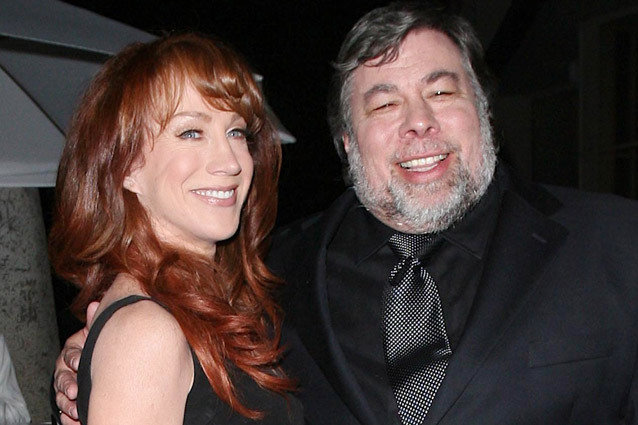 Kathy Griffin and Steve Wozniak