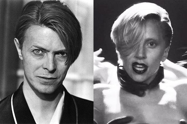 Lady Gaga, Applause, David Bowie