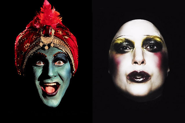 Lady Gaga, Applause, Jambi, Pee-Wee's Playhouse