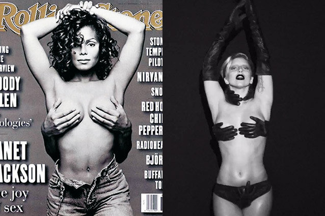 Lady Gaga, Applause, Janet Jackson, Rolling Stone