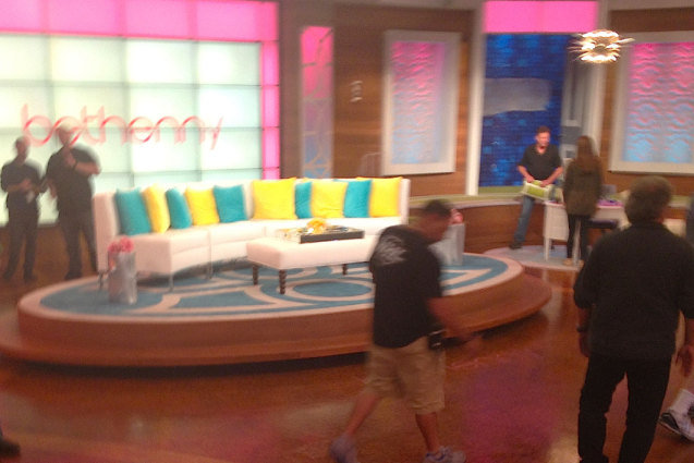 Bethenny Set Photo