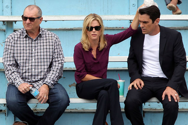 Ty Burrell, Julie Bowen and Ed O'Neill