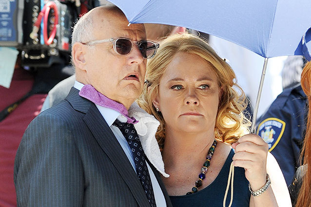 Cybill Shepherd and Jeffrey Tambor