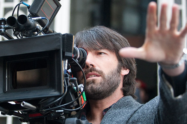 Ben Affleck on the set of Argo
