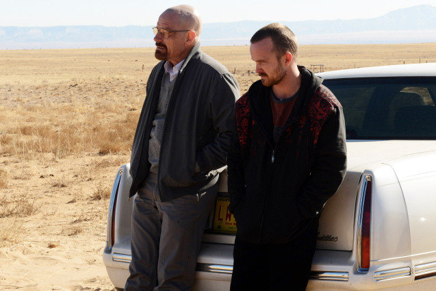 Breaking Bad, Bryan Cranston, Aaron Paul