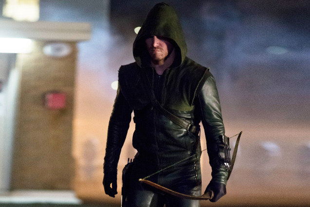 Stephen Amell, Arrow, The CW
