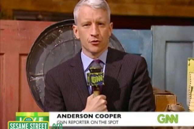 Sesame Street, Anderson Cooper