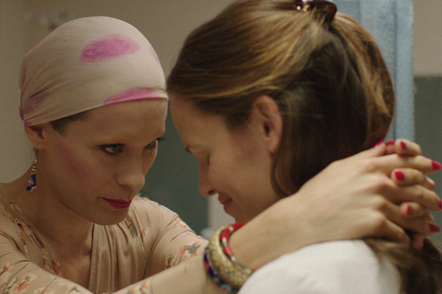 This clip from 'Dallas Buyers Club' has Rayon (Jared Leto) has given up on trying to be cured of HIV, however Dr. Eve Saks (Jennifer Garner) hasn't given up.