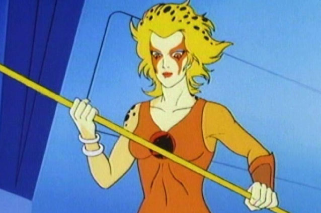 This girl makes baton-twirling cool. Bravely rocking an orange leotard, this Thundercat wielded her bo staff equipped with energy beams and used her super speed to best her enemies in battle. In this case, being catty is a very good thing.