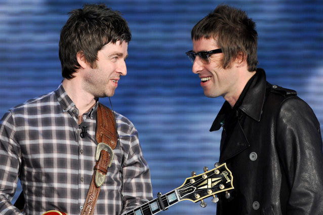 Liam Gallagher, Noel Gallagher, Oasis