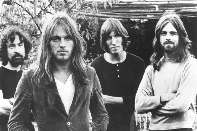 Nick Mason, David Gilmour, Roger Waters, Rick Wright, Pink Floyd