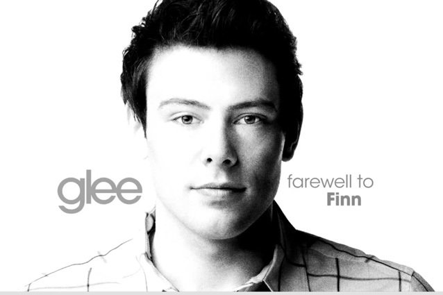 Glee gets ready to say goodbye to Corey Cory Monteith on the October 10 episode.