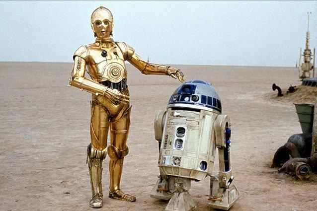 C3P0, R2D2, Star Wars
