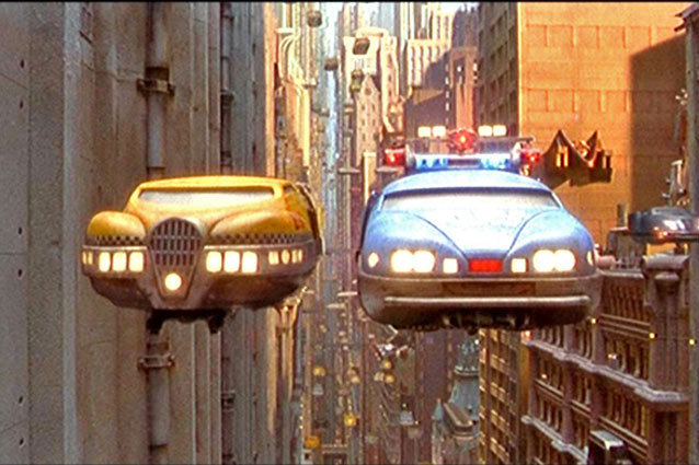 The Fifth Element, Flying Car