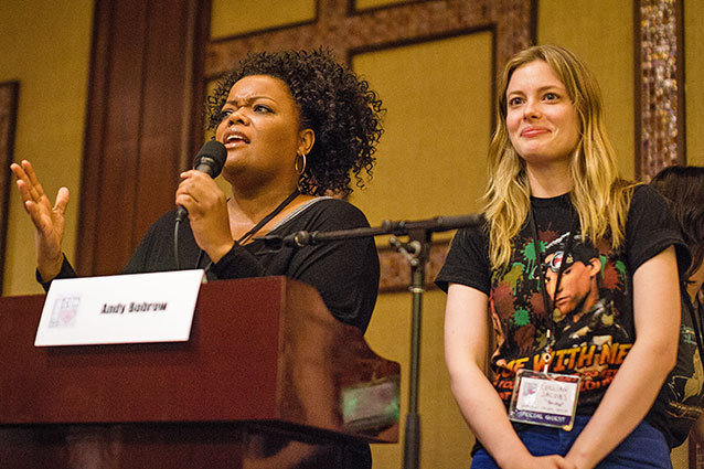 CommuniCon, Gillian Jacobs & Yvette Nicole Brown