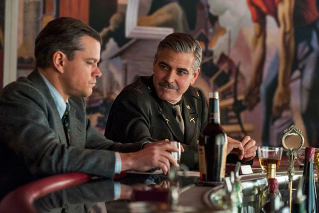 The Monuments Men postponed to 2014