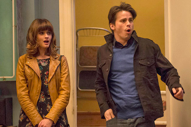 "Jason Ritter and Alexis Bledel Preview ""Us & Them"""