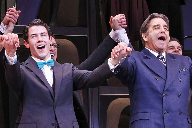 Nick Jonas, Beau Bridges, How to Succeed in Business