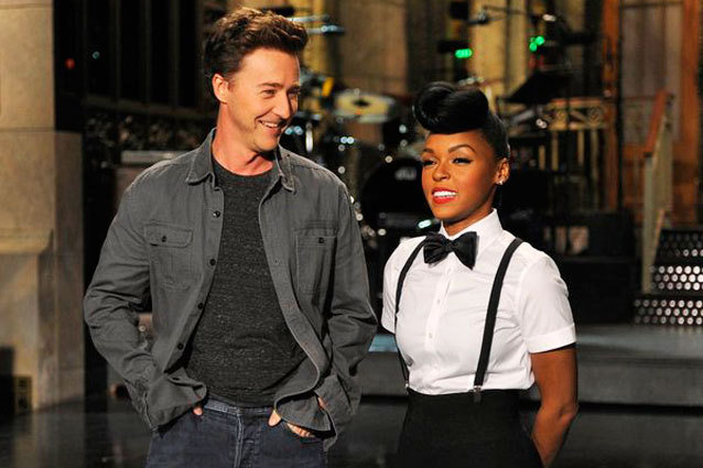 SNL with Ed Norton and Janelle Monae