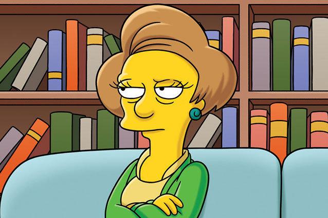 Simpsons, Edna Krabappel