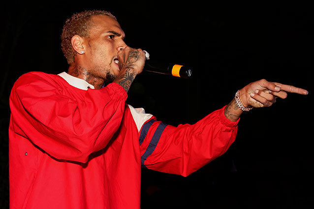 Chris Brown is entering anger management rehab