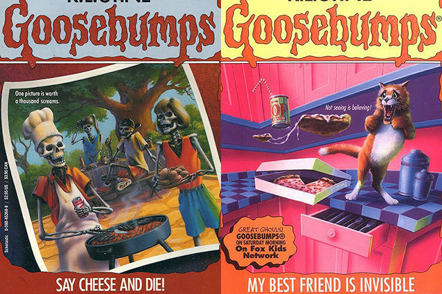 10 most ridiculous Goosebumps titles
