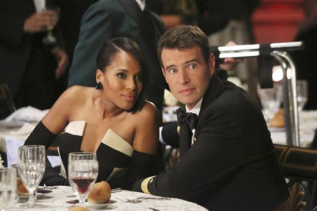 Scandal, Kerry Washington and Scott Foley